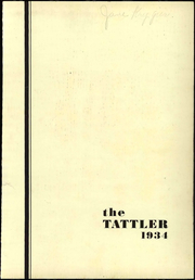 Page 7, 1934 Edition, Emerson High School - Tattler Yearbook (Stevens Point, WI) online yearbook collection
