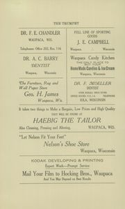Page 4, 1920 Edition, Scandinavia Academy - Trumpet Yearbook (Scandinavia, WI) online yearbook collection