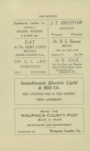 Page 6, 1920 Edition, Scandinavia Academy - Trumpet Yearbook (Scandinavia, WI) online yearbook collection