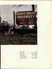 Page 11, 1967 Edition, University of Wisconsin Stout - Tower Yearbook (Menomonie, WI) online yearbook collection