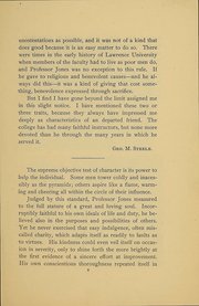 Page 11, 1899 Edition, Lawrence University - Ariel Yearbook (Appleton, WI) online yearbook collection