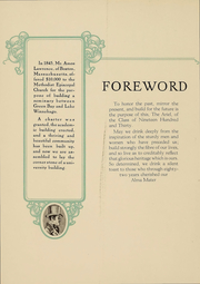 Page 7, 1930 Edition, Lawrence University - Ariel Yearbook (Appleton, WI) online yearbook collection