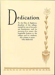 Page 17, 1933 Edition, Lawrence University - Ariel Yearbook (Appleton, WI) online yearbook collection