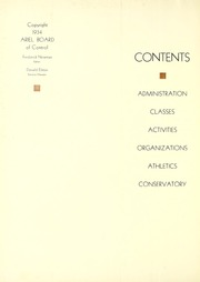 Page 8, 1935 Edition, Lawrence University - Ariel Yearbook (Appleton, WI) online yearbook collection
