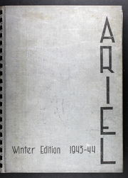 Page 1, 1944 Edition, Lawrence University - Ariel Yearbook (Appleton, WI) online yearbook collection