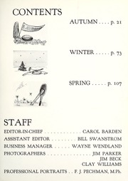 Page 7, 1956 Edition, Lawrence University - Ariel Yearbook (Appleton, WI) online yearbook collection
