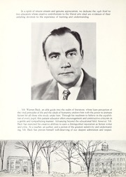 Page 8, 1956 Edition, Lawrence University - Ariel Yearbook (Appleton, WI) online yearbook collection