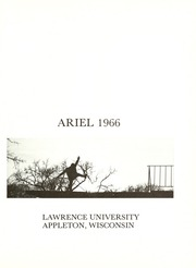 Page 5, 1966 Edition, Lawrence University - Ariel Yearbook (Appleton, WI) online yearbook collection