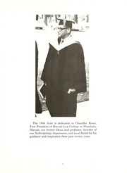 Page 9, 1966 Edition, Lawrence University - Ariel Yearbook (Appleton, WI) online yearbook collection