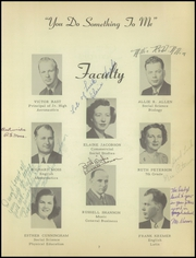 Page 11, 1950 Edition, Washington High School - Panther Yearbook (Oconto Falls, WI) online yearbook collection