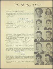 Page 15, 1950 Edition, Washington High School - Panther Yearbook (Oconto Falls, WI) online yearbook collection