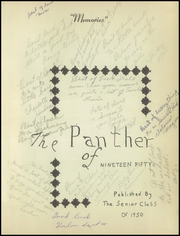 Page 5, 1950 Edition, Washington High School - Panther Yearbook (Oconto Falls, WI) online yearbook collection