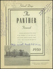 Page 6, 1950 Edition, Washington High School - Panther Yearbook (Oconto Falls, WI) online yearbook collection