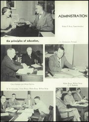 Page 10, 1955 Edition, Washington High School - Panther Yearbook (Oconto Falls, WI) online yearbook collection
