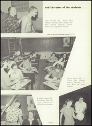 Page 13, 1955 Edition, Washington High School - Panther Yearbook (Oconto Falls, WI) online yearbook collection