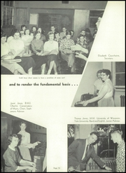Page 14, 1955 Edition, Washington High School - Panther Yearbook (Oconto Falls, WI) online yearbook collection