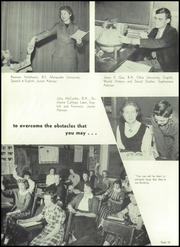 Page 16, 1955 Edition, Washington High School - Panther Yearbook (Oconto Falls, WI) online yearbook collection