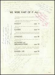 Page 7, 1955 Edition, Washington High School - Panther Yearbook (Oconto Falls, WI) online yearbook collection