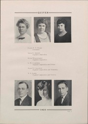 Page 19, 1925 Edition, University of Wisconsin Oshkosh - Quiver Yearbook (Oshkosh, WI) online yearbook collection