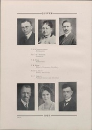 Page 20, 1925 Edition, University of Wisconsin Oshkosh - Quiver Yearbook (Oshkosh, WI) online yearbook collection
