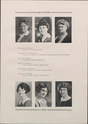 Page 25, 1925 Edition, University of Wisconsin Oshkosh - Quiver Yearbook (Oshkosh, WI) online yearbook collection
