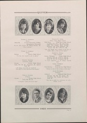 Page 33, 1925 Edition, University of Wisconsin Oshkosh - Quiver Yearbook (Oshkosh, WI) online yearbook collection