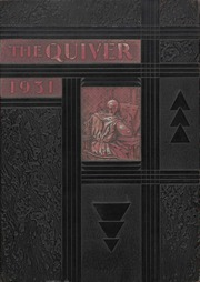 1931 Edition, University of Wisconsin Oshkosh - Quiver Yearbook (Oshkosh, WI)