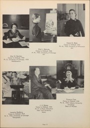 Page 16, 1936 Edition, University of Wisconsin Oshkosh - Quiver Yearbook (Oshkosh, WI) online yearbook collection