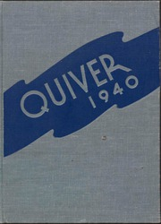 1940 Edition, University of Wisconsin Oshkosh - Quiver Yearbook (Oshkosh, WI)