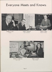 Page 11, 1953 Edition, University of Wisconsin Oshkosh - Quiver Yearbook (Oshkosh, WI) online yearbook collection