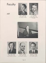 Page 12, 1953 Edition, University of Wisconsin Oshkosh - Quiver Yearbook (Oshkosh, WI) online yearbook collection