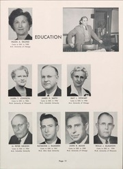 Page 13, 1953 Edition, University of Wisconsin Oshkosh - Quiver Yearbook (Oshkosh, WI) online yearbook collection