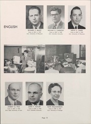 Page 14, 1953 Edition, University of Wisconsin Oshkosh - Quiver Yearbook (Oshkosh, WI) online yearbook collection
