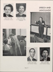 Page 15, 1953 Edition, University of Wisconsin Oshkosh - Quiver Yearbook (Oshkosh, WI) online yearbook collection