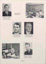 Page 17, 1953 Edition, University of Wisconsin Oshkosh - Quiver Yearbook (Oshkosh, WI) online yearbook collection