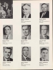Page 15, 1957 Edition, University of Wisconsin Oshkosh - Quiver Yearbook (Oshkosh, WI) online yearbook collection
