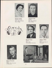 Page 19, 1957 Edition, University of Wisconsin Oshkosh - Quiver Yearbook (Oshkosh, WI) online yearbook collection