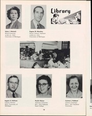 Page 20, 1957 Edition, University of Wisconsin Oshkosh - Quiver Yearbook (Oshkosh, WI) online yearbook collection