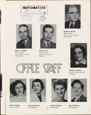 Page 21, 1957 Edition, University of Wisconsin Oshkosh - Quiver Yearbook (Oshkosh, WI) online yearbook collection