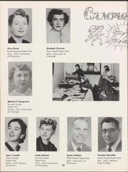 Page 22, 1957 Edition, University of Wisconsin Oshkosh - Quiver Yearbook (Oshkosh, WI) online yearbook collection