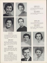 Page 30, 1957 Edition, University of Wisconsin Oshkosh - Quiver Yearbook (Oshkosh, WI) online yearbook collection