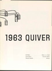 Page 5, 1963 Edition, University of Wisconsin Oshkosh - Quiver Yearbook (Oshkosh, WI) online yearbook collection