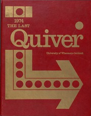 1974 Edition, University of Wisconsin Oshkosh - Quiver Yearbook (Oshkosh, WI)