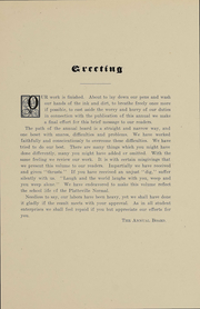 Page 7, 1908 Edition, University of Wisconsin Platteville - Pioneer Yearbook (Platteville, WI) online yearbook collection