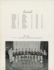 Page 56, 1954 Edition, Tony High School - Deertail Mirror Yearbook (Tony, WI) online yearbook collection