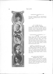 Page 18, 1909 Edition, University of Wisconsin Stevens Point - Horizon / Iris Yearbook (Stevens Point, WI) online yearbook collection