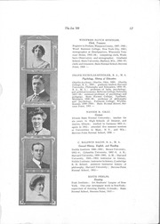 Page 19, 1909 Edition, University of Wisconsin Stevens Point - Horizon / Iris Yearbook (Stevens Point, WI) online yearbook collection