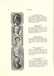 Page 20, 1909 Edition, University of Wisconsin Stevens Point - Horizon / Iris Yearbook (Stevens Point, WI) online yearbook collection