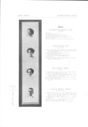 Page 14, 1910 Edition, University of Wisconsin Stevens Point - Horizon / Iris Yearbook (Stevens Point, WI) online yearbook collection