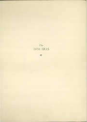 Page 5, 1930 Edition, University of Wisconsin Stevens Point - Horizon / Iris Yearbook (Stevens Point, WI) online yearbook collection